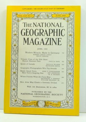 The National Geographic Magazine, Volume 115, Number 6 (June, 1959). Melville Bell Grosvenor,...