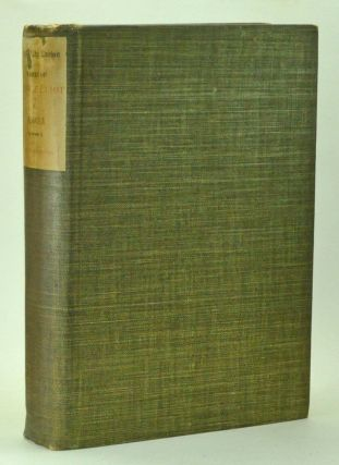 Romola, in three volumes. Holly Lodge Edition. George Eliot, Mary Ann Evans