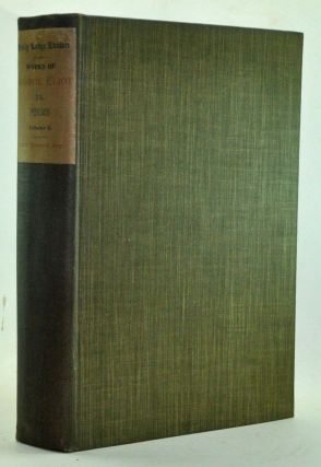 Poems, Volumes 1 and 2. Holly Lodge Edition. George Eliot, Mary Ann Evans