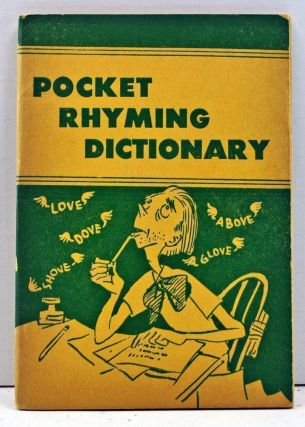 Rhyming Dictionary (Little Blue Book No. 25). No Author Given