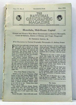 Honolulu, Mid-Ocean Capital. Article published in National Geographic Magazine, Volume 105,...