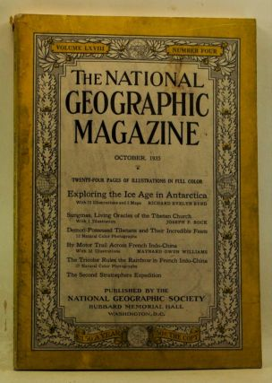 The National Geographic Magazine, Volume 68, Number 4 (October 1935). Gilbert Grosvenor, Richard...