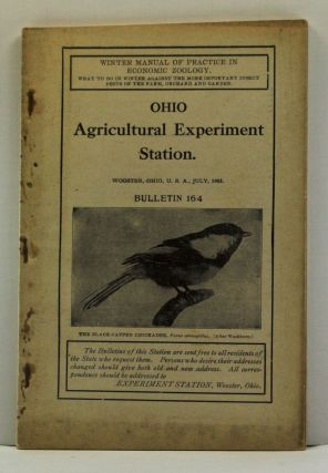 Winter Manual of Practice in Economic Zoology. Ohio Agricultural Experiment Station Bulletin 164...