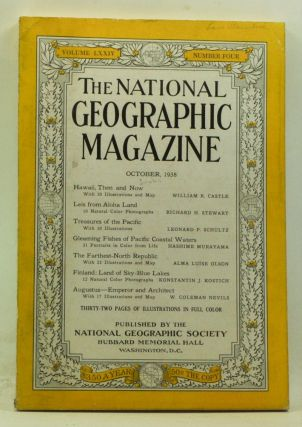 The National Geographic Magazine, Volume 74, Number 4 (October 1938). Gilbert Grosvenor, William...