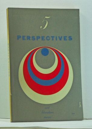 Perspectives USA, Number Five (Autumn 1953). Malcolm Cowley, Hugh Morrison, Kenneth Burke, Henry A. Murray, Otis Ferguson, John Cheever, Richard Gay, David Riesman, Conrad Aiken.