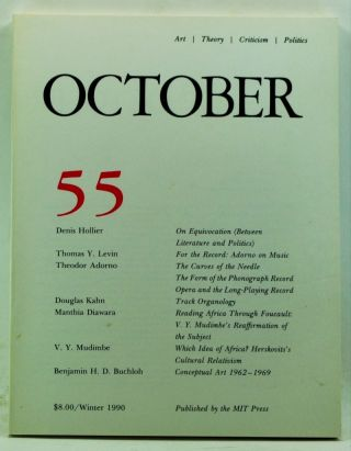 October 55: Art, Theory, Criticism, Politics (Winter 1990). Joan Copjec, Rosalind Krauss, Annette...