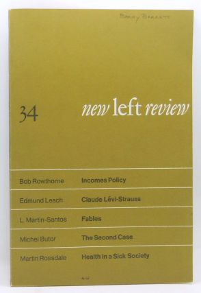 New Left Review 34 (November-December 1965). Perry Anderson, Bob Rowthorne, Edmund Leach, L....