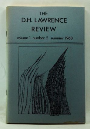 The D. H. Lawrence Review, Volume 1, Number 2 (Summer 1968). James C. Cowan, Evelyn J. Hinz,...