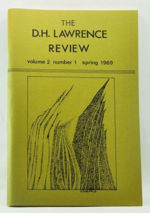 The D. H. Lawrence Review, Volume 2, Number 1 (Spring 1969). John Middleton Murry Number. James C. Cowan, F. A. Lea, Richard Ree, J. R. Bennett, C. G. Thayer, Philip Mahone Giffith, Richard Harter Fole, Ernest G. Griffin, Christian Moe.
