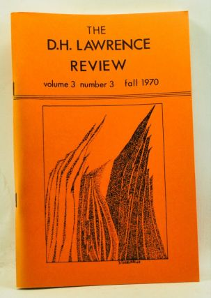 The D. H. Lawrence Review, Volume 3, Number 3 (Fall 1970). D. H. Lawrence's Reading. James C. Cowan