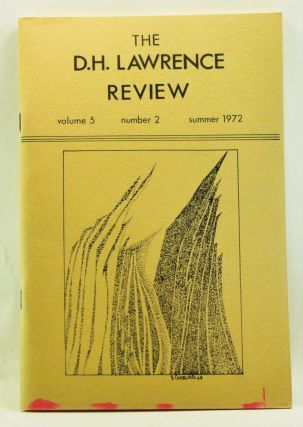 The D. H. Lawrence Review, Volume 5, Number 2 (Summer 1972). James C. Cowan, Michael Kirkham, David Farmer, Larry V. Ledoux, Carole Ferrier, Egon Tiedje, Keith Cushman, Gerald M. Garmon.