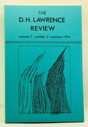 The D. H. Lawrence Review, Volume 7, Number 2 (Summer 1974). James C. Cowan, Daniel J. Schneider,...