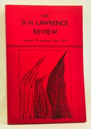 The D. H. Lawrence Review, Volume 10, Number 3 (Fall 1977). Psychoanalytic Criticism of the Short...