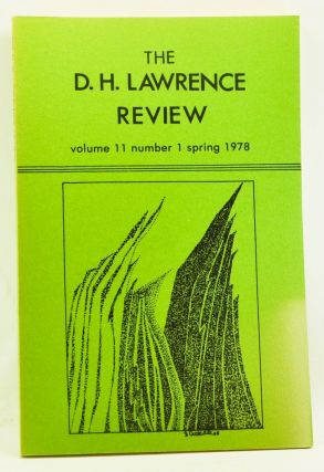 The D. H. Lawrence Review, Volume 11, Number 1 (Spring 1978). James C. Cowan, Allan R. Zoll,...