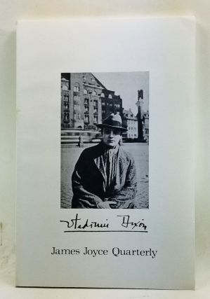 James Joyce Quarterly, Volume 16, Number 3 (Spring 1979). Thomas F. Staley, Thomas A. Goldwasser,...
