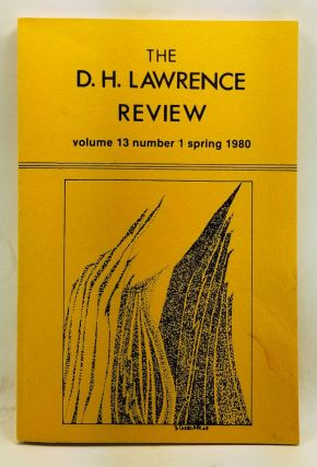 The D. H. Lawrence Review, Volume 13, Number 1 (Spring 1980). D. H. Lawrence: Myth and Occult....