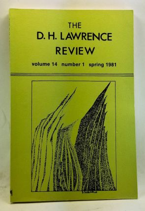 The D. H. Lawrence Review, Volume 14, Number 1 (Spring 1981). D. H. Lawrence: Friendship and...