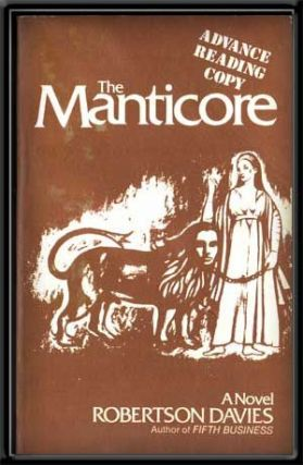 The Manticore. Robertson Davies.