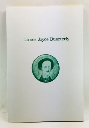 James Joyce Quarterly, Volume 9, Number 4 (Summer 1972). Thomas F. Staley, Leo Knuth, Anthony...