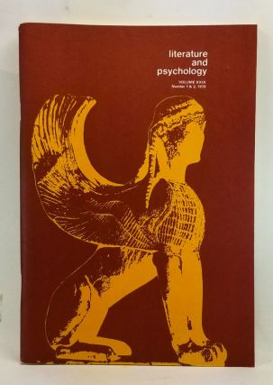 Literature and Psychology, Volume 29, Numbers 1 & 2 (1979). Morton Kaplan, Randolph Splitter,...