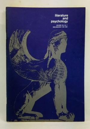 Literature and Psychology, Volume 21, Number 4 (Bibliography for 1969). Morton Kaplan