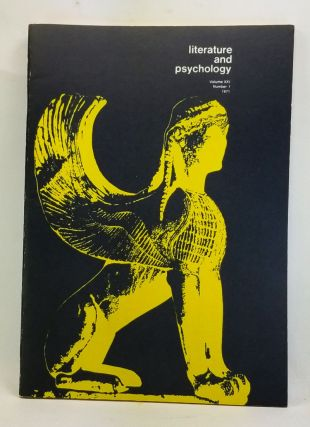 Literature and Psychology, Volume 21, Number 1 (1971). Morton Kaplan, Katherine Stockholder, John...