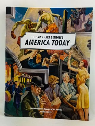 The Metropolitan Museum of Art Bulletin, Winter 2015 (Vol. 72, Number 3). Thomas Hart Benton's...