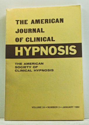 The American Journal of Clinical Hypnosis, Volume 24, Number 3 (January 1982). Sheldon B. Cohen