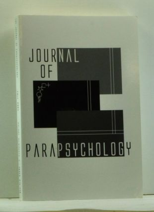 Journal of Parapsychology, Volume 68, Number 2 (Fall 2004). John A. Palmer, James C. Carpenter,...