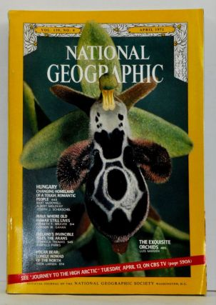 The National Geographic Magazine, Volume 139 (CXXXIX), No. 4 (April 1971). Gilbert Hovey National...