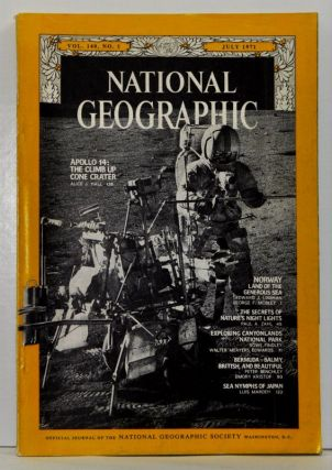 The National Geographic Magazine, Volume 140 (CXL), No. 1 (July 1971). Gilbert Hovey National...