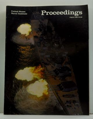 United States Naval Institute Proceedings, Vol. 107/8/942 (August 1981). Jan. S. Breemer, Edward...
