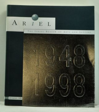 Ariel: the Israel Review of Arts and Letters 1948-1998 (107-8, Jerusalem 1998). Asher Weill
