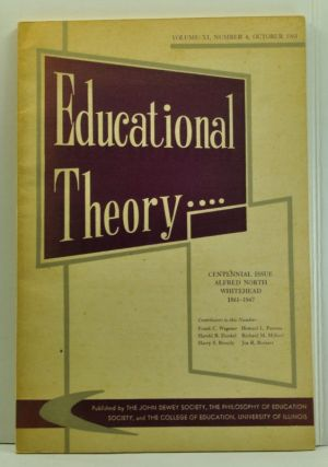 Educational Theory, Vol. 11, No. 4 (October 1961). Archibald W. Anderson.