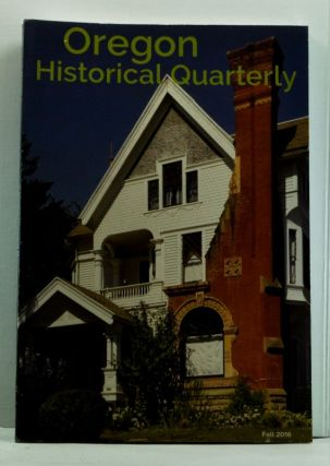 Oregon Historical Quarterly, Volume 117, Number 3 (Fall 2016). Eliza E. Canty-Jones.