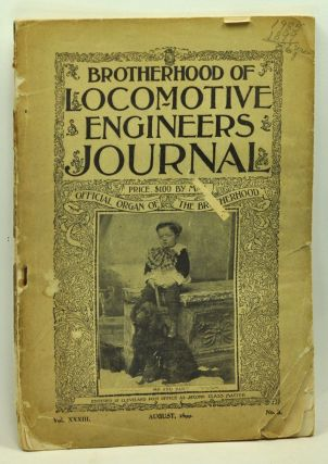 Brotherhood of Locomotive Engineers Monthly Journal, Volume 33, No. 8 (August 1899). C. H. Salmons.