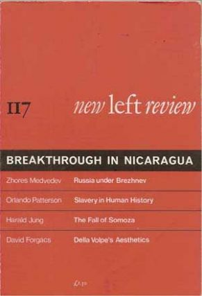 New Left Review 116 (July-August 1979): Domestic Labour and Capitalism. Sebastiano Timpanaro,...