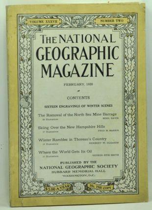 The National Geographic Magazine, Volume XXXVII, Number Two (February, 1920). Gilbert Grosvenor,...