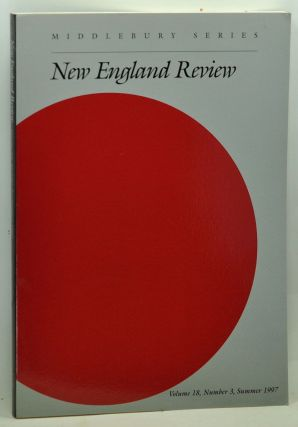 New England Review, Volume 18, Number 3 (Summer 1997). Stephen Donadio.