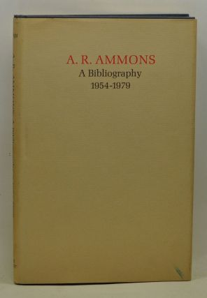 A. R. Ammons: A Bibliography 1954-1979. Stuart Wright
