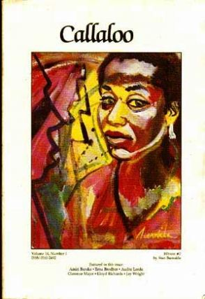 Callaloo #14, Winter 1991 (Volume 14, No. 1): A Journal of African-American and African Arts and...
