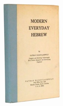Modern Everyday Hebrew. Nathan Eligoulashwily