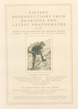 Fifteen Reproductions from Drawings and Latest Photographs of the Austro-Italian Campaign, the Campaign against Turkey, and Events on Other Fronts. 384, Vol. 3. Unknown.