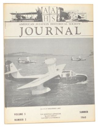 American Aviation Historical Society Journal, Volume 5, Number 2 (Summer 1960). Gerald E. Wheeler