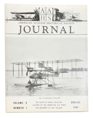 American Aviation Historical Society Journal, Volume 6, Number 1 (Spring 1961). Gerald E. Wheeler
