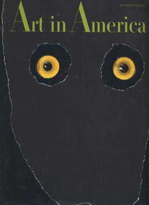 Art in America, Vol. 58, No. 4 (July-August 1970). Jean Lipman