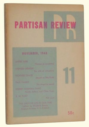 The Partisan Review, Volume 15, Number 11 (November 1948). William Phillips, Philip Rahv,...