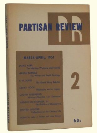 The Partisan Review, Volume 18, Number 2 (March-April 1951). William Phillips, Philip Rahv, James...