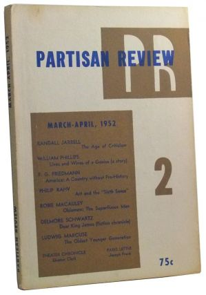 The Partisan Review, Volume 16, Number 4 (March-April 1952). William Phillips, Philip Rahv,...