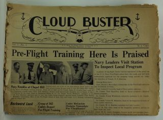 Cloud Buster, Volume 1, Number 1 (September 19, 1942). Leonard Eiserer